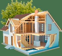 <p>Мы строим дома по собственным проектам и при проектировании учитываем не только архитектурную сторону проекта, но и техническую. Идеальный проект дома для нас – это проект проработанный с функциональной, архитектурной и технической стороны, по которому строители смогут возвести дом без необходимости внесения правок и перерасхода материалов в процессе строительства.</p>